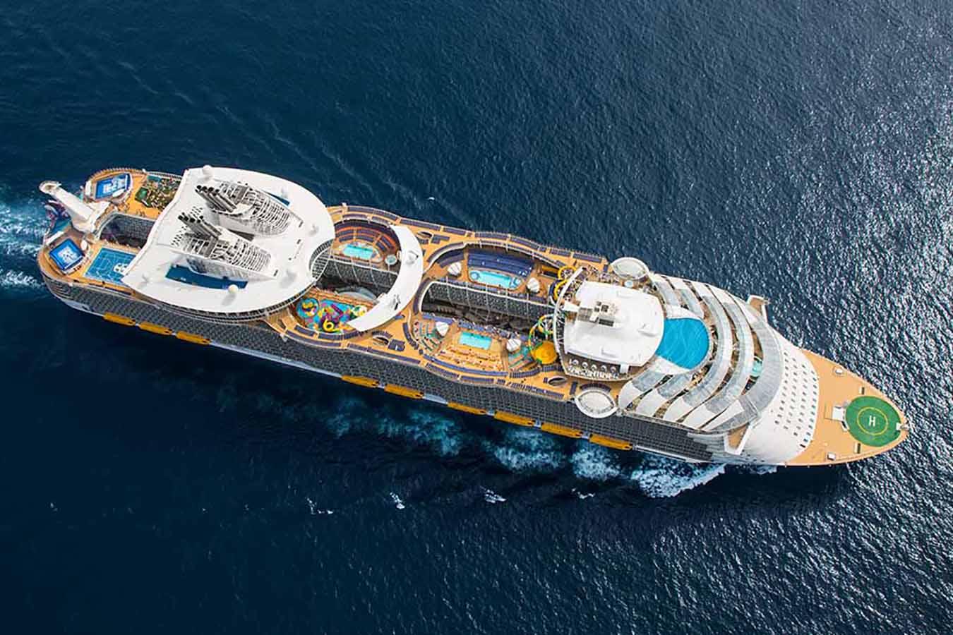 O maior navio de cruzeiros do mundo!